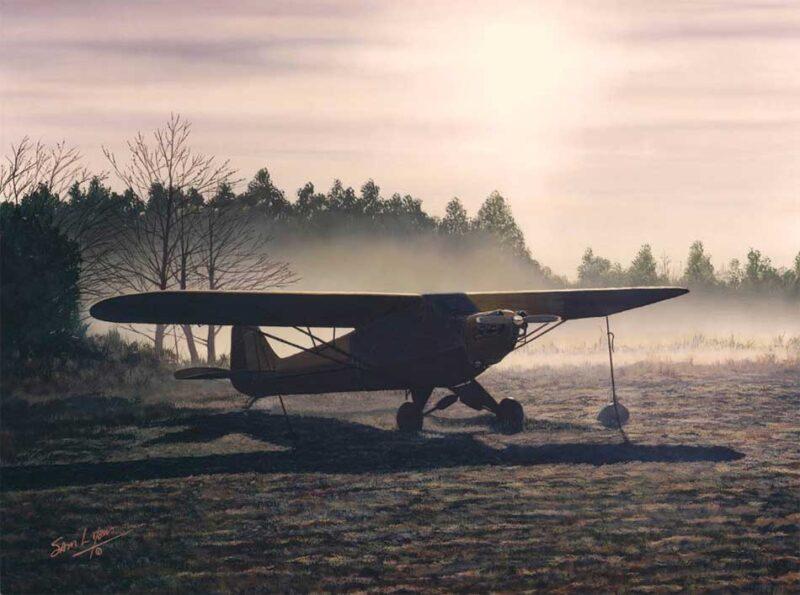 Anticipation, Aviation Art by Sam Lyons