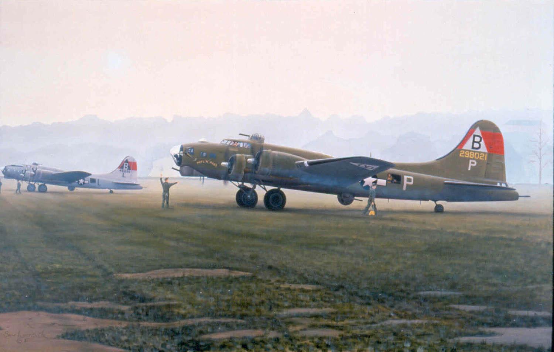 Fames-Favored-Few, Aviation Art by Sam Lyons