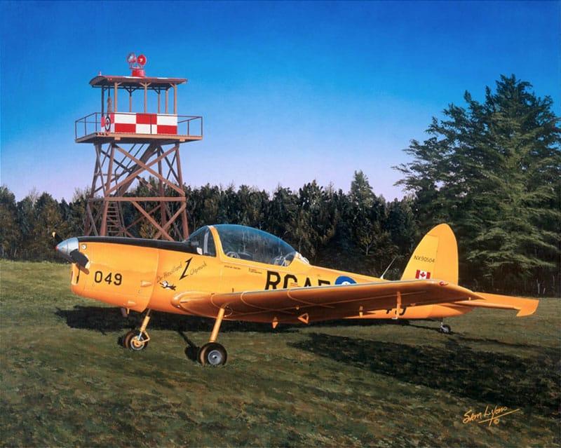 Aviation Art by Sam Lyons, Myrt's Munk