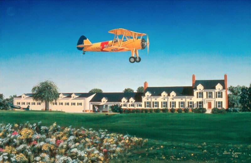 Aviation Art by Sam Lyons, The Dream
