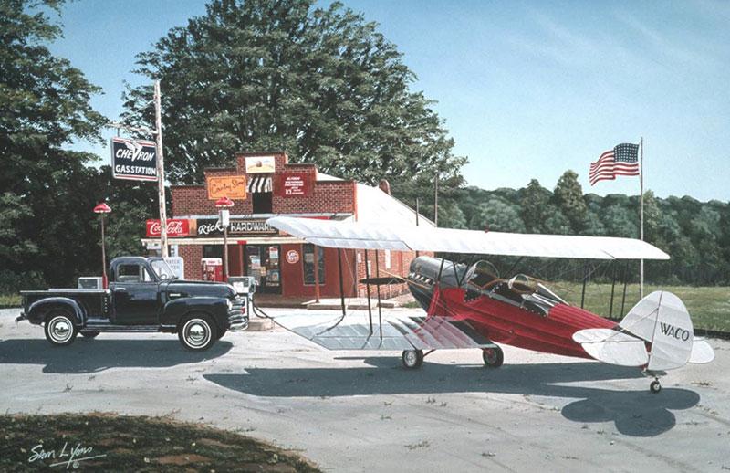 Aviation Art by Sam Lyons, Vintage Dreams