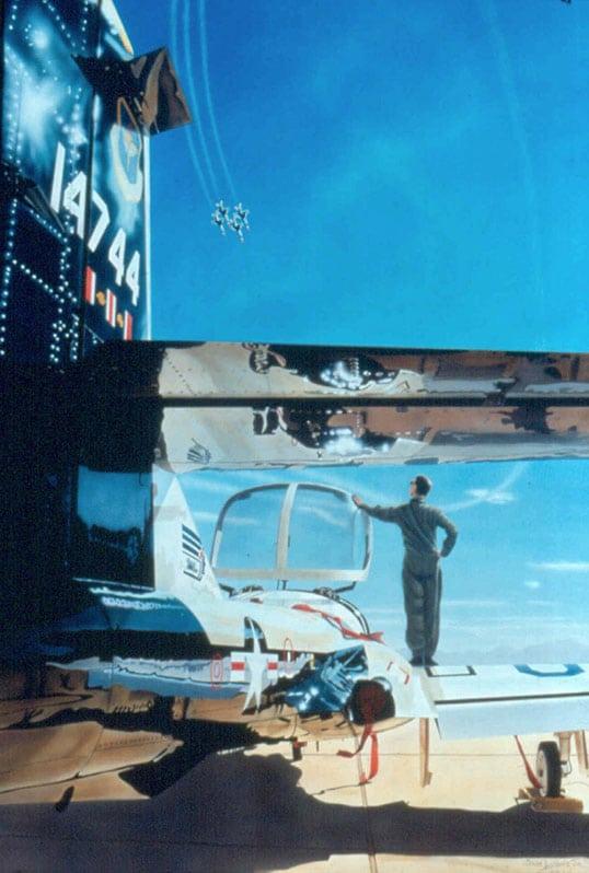 Aviation Art by Sam Lyons, Visions