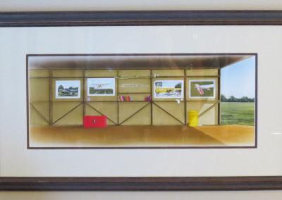 Inside Hangar Cub Book Illustration